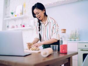 Digital teambuilding- vegetarisk matlagningskurs online