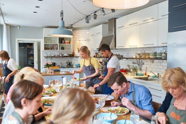 Företagsevent- vegetarisk matlagningskurs