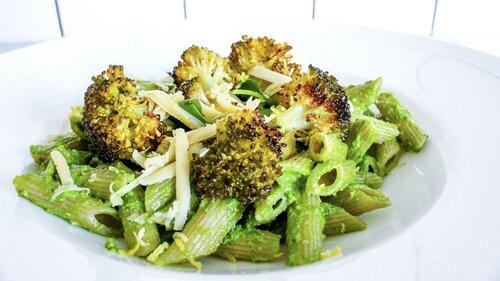 P4 Uppland- Pasta med spenatpesto och rostad broccoli boostar immunförsvaret
